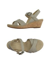 Timberland - Gray Sandals - Lyst
