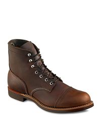 """Red Wing Brown """"Iron Ranger"""" Boots for men"""