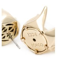 Eddie Borgo | Metallic 'rose Bud' Stud Earrings | Lyst