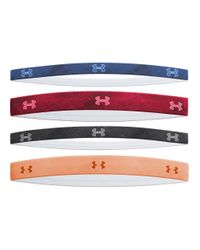 Under Armour | Multicolor 4 Pack Graphic Elastic Headband | Lyst