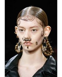 Givenchy | Metallic Skull Nose Ring for Men | Lyst