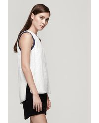 Rag & Bone - White Lana Top - Lyst