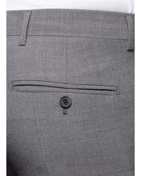 Mauro Grifoni - Gray Tailored Wool Pants for Men - Lyst