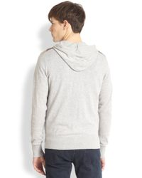 Burberry Brit - Gray Jegar Hoodie for Men - Lyst