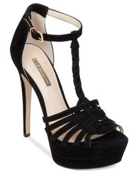 BCBGeneration | Black Vixen Platform Dress Sandals | Lyst