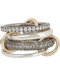 Spinelli Kilcollin Metallic Vega Sg Pavé Ring