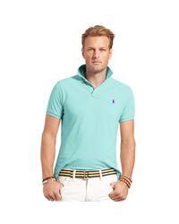Ralph Lauren | Blue Classic-fit Mesh Polo for Men | Lyst