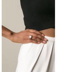 Rosa Maria - Black 'julia' Ring - Lyst