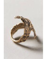 Alkemie - Metallic Winding Wildflower Ring - Lyst