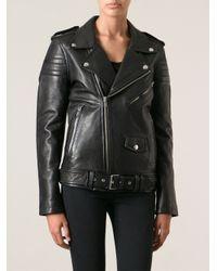 BLK DNM | Black Biker Jacket | Lyst