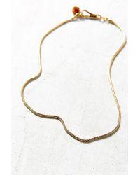 Urban Outfitters | Metallic Discotecca Precioso Necklace | Lyst