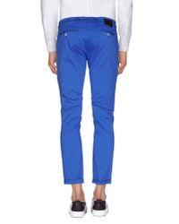Roberto Pepe Blue Casual Trouser for men