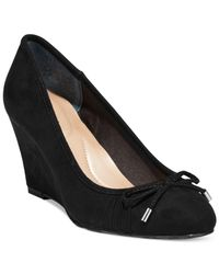 Style & Co. | Black Style&co. Florah Dress Wedges, Only At Macy's | Lyst