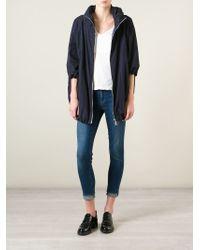 Moncler Blue Teulie Padded Jacket