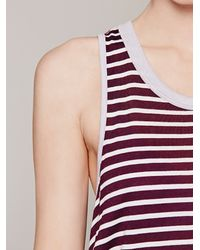 Free People Purple We The Free Strike Out Tank