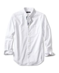 Banana Republic | White Slim-fit Solid Oxford Shirt for Men | Lyst