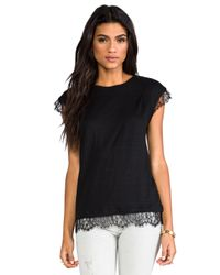 Marc By Marc Jacobs - Carmen Jersey Tee in Black - Lyst