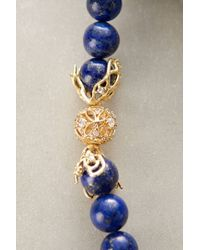 Indulgems - Blue Stonestack Necklace - Lyst