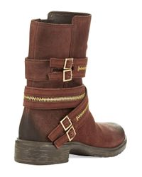 Vince Camuto | Brown Tavi Zipper Boots | Lyst