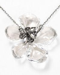 Alexis Bittar - Metallic Lucite Tremble Petal Pendant Necklace 15 - Lyst