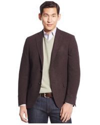 Calvin Klein | Purple Soft Construction Slim-fit Sport Coat for Men | Lyst