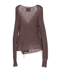 Erika Cavallini Semi Couture - Brown Cardigan - Lyst