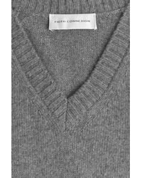 Faith Connexion - Gray Cashmere Pullover - Grey - Lyst