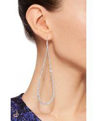 AS29 - Metallic Marquise Large Pear Earrings - Lyst