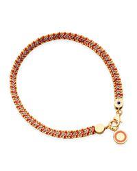 Astley Clarke - Red Cajun Shrimp Cosmos Stones Bracelet - Lyst