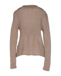 Relive - Natural Cardigan - Lyst