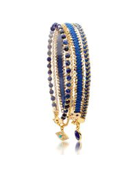 Biography - Blue Watch Over Me Bracelet Stack - Lyst