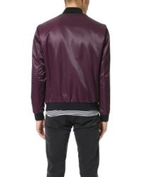 Theory - Purple Volter Catalyst Bomber for Men - Lyst