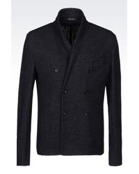 Emporio Armani - Gray Three Buttons Jacket for Men - Lyst