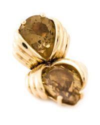 Shaun Leane | Metallic 'bound' Champagne Quartz Earrings | Lyst