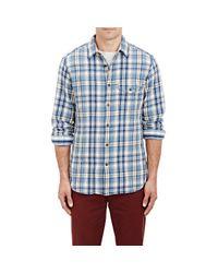 Alex Mill Multicolor Men's Plaid Shirt for men