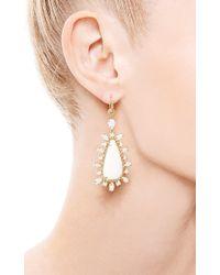 Nina Runsdorf - One Of A Kind Turkish and White Opal Earrings - Lyst
