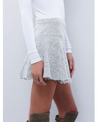 Free People | White Sunshine Smile Skirt | Lyst