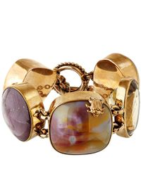 Stephen Dweck | Metallic Gold-Tone Rutilated Quartz Bracelet | Lyst