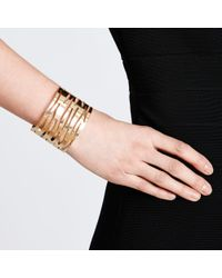 John Lewis - Metallic Animal Cut-Out Cuff Bracelet - Lyst