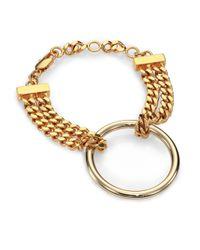 Chloé | Metallic Carley Chain Bracelet | Lyst