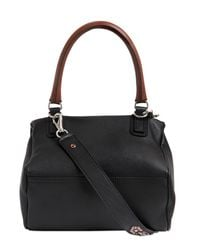 Givenchy Black Small Pandora Studded Leather Bag