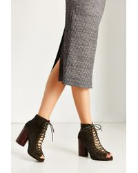 Jeffrey Campbell | Green Free Love Lace-up Heel | Lyst