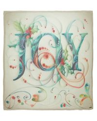 Faliero Sarti - Green Joy Print Scarf - Lyst