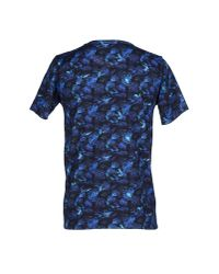 White Mountaineering Blue T-shirt for men