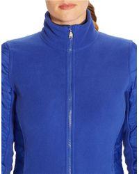 Lauren by Ralph Lauren - Blue Plus Fleece Jacket - Lyst