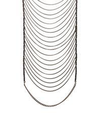 Lisa Freede Metallic Malibu Necklace