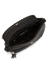 Kensie - Black Stud-trimmed Crossbody Bag - Lyst