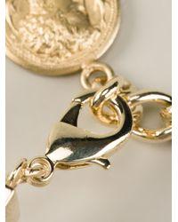 Dolce & Gabbana - Metallic Roman Coin Bracelet - Lyst
