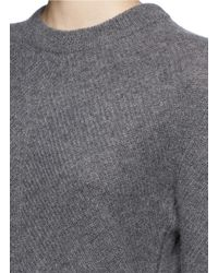 Rag & Bone | Gray 'alexis' Cashmere Sweater | Lyst
