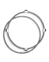 David Yurman | Metallic Color Classics Bangles With Hematine | Lyst